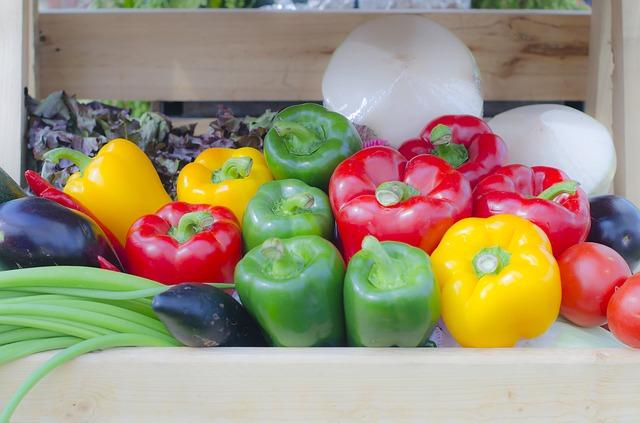 zelenina, papriky