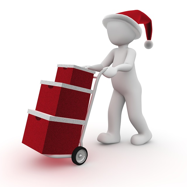 dovážka dárků