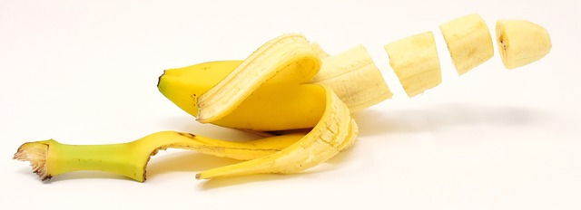 krájený banán